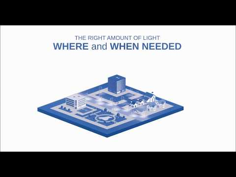 inteliLIGHT - intelligent street lighting remote management & smart city platform