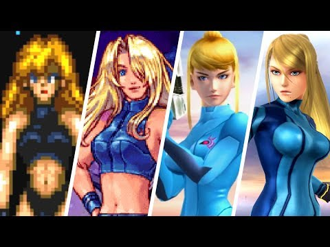 Evolution of Zero Suit Samus (1986 - 2018)