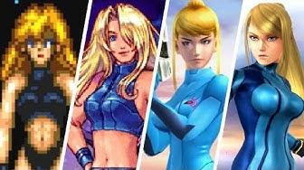 Evolution of Zero Suit Samus (1986 - 2018)