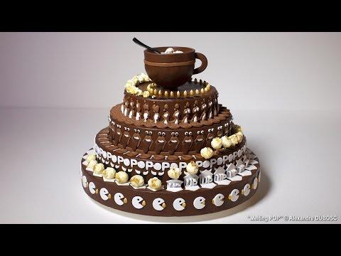 Alexandre Dubosc's Newest Animated Zoetrope Cake, 'Melting Pop' | Colossal