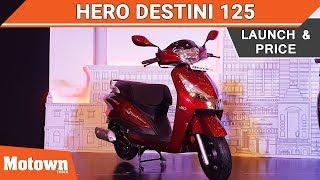 Hero Destini 125 products
