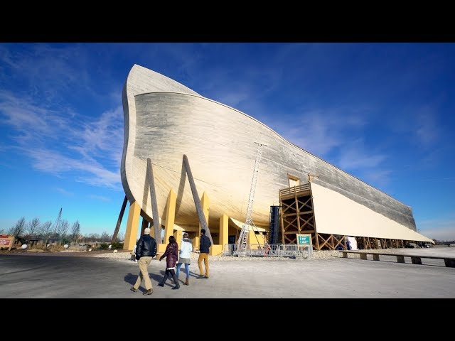 Exploring the Ark Encounter with Del Tackett and 3 Wheaton College Students