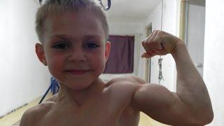 Самый сильный ребенок в мире.