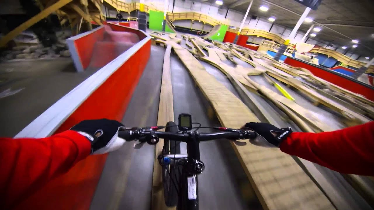 Joyride 150 - Indoor Mountain Biking | playertube - Youtube