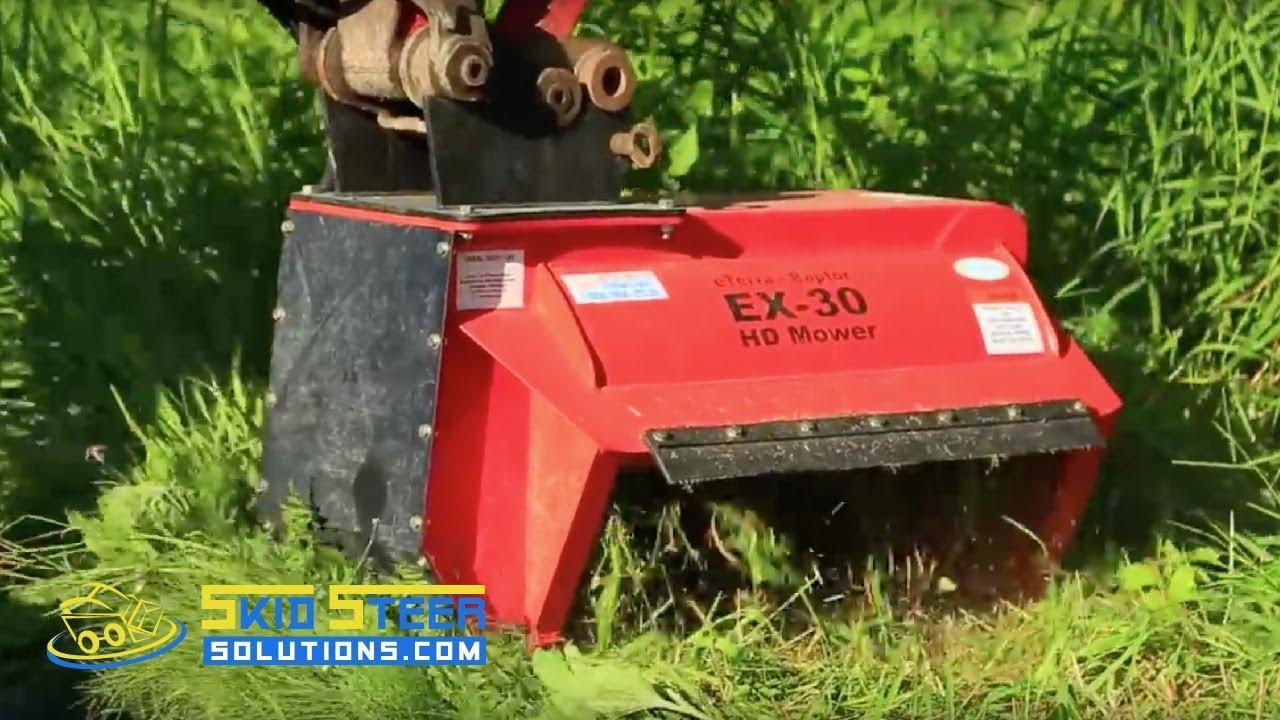 EX-30 Excavator Flail Mower