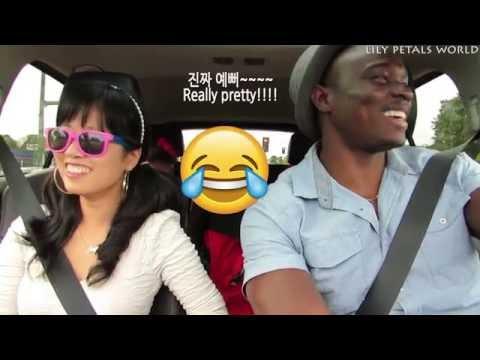 Kenyan Husband Speaking Korean and Korean Wife Speaking Swahili 남편의 한국어 작업멘트 | Q&A- 2016 vlog ep. 60