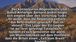 Angebot der EU-Kommission –              London erteilt dem Exit vom Brexit eine Absage