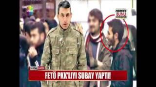 FETÖ PKK'lıyı subay yaptı