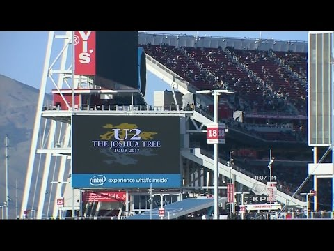 - The Joshua Tree Tour 2020  Levi\'S Stadium  May 17 Santa Clara To Punish 49ers For Curfew Busting Concert At Levi's