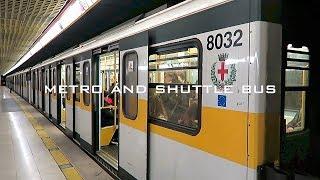 イタリアの旅1🇮🇹ミラノ空港から市内までシャトルバス・ミラノ中央駅でメトロ乗車・ミラノ地下鉄の切符と乗り方【ベルガモ オーリオ アル セーリオ空港】