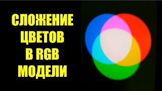 Аддитивное смешение цветов RGB модель