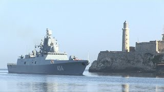 Russian navy ship arrives in Cuba in midst of tensions with US | AFP