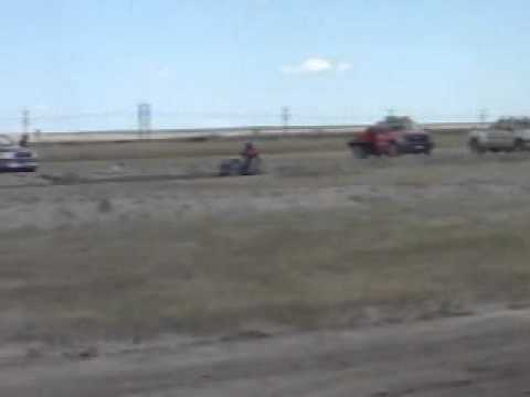 Hilltop Racing Lawn Mower Race Pine Bluffs Wyoming 2010
