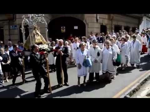 VILLAVICIOSA 2014 PROCESION DEL DOMINGO DE DE LAS FIESTAS DEL  PORTAL  xvid
