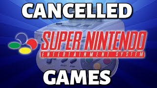 20 Cancelled Super Nintendo Games