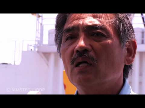 behind the scenes -Chikyu- (Offshore Installation Manager)