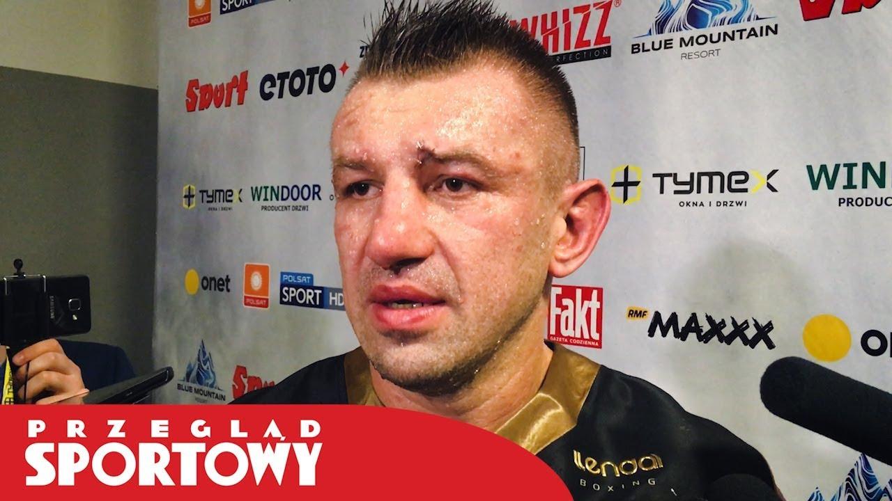 """Tomasz Adamek wygrał z Kassim. """"Chcę jeszcze jednej dużej walki"""""""