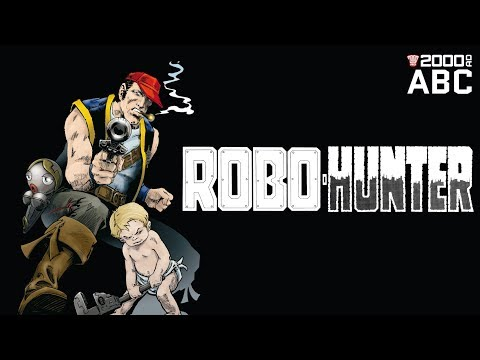 The 2000 AD ABC #74: Robo-Hunter