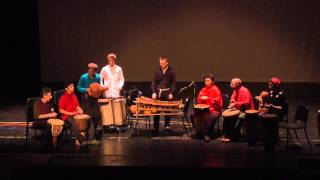 The Putney School: Winter Concert 2014—African Drumming