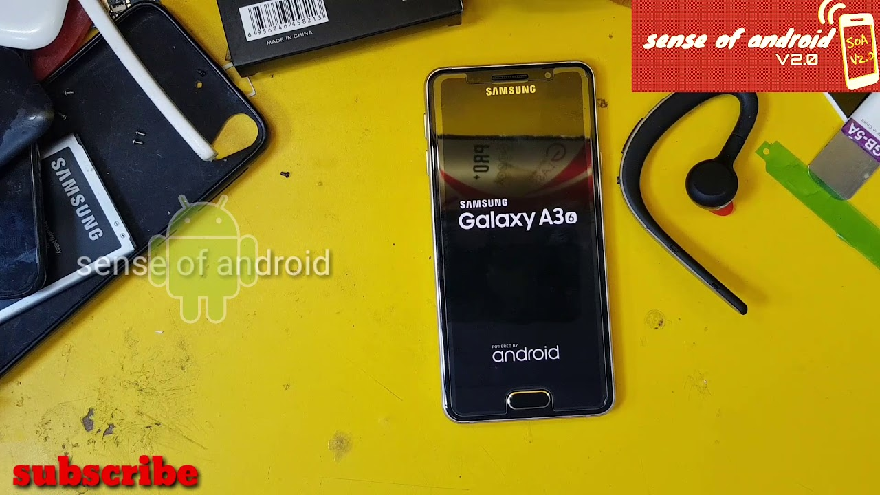 SAMSUNG A310F (A3 2016) Remove/BYPASS Google Account/FRP Lock Without  Sidesync/OTG