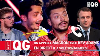 ON APPELLE MACRON AVEC KEV ADAMS EN DIRECT IL A VOLÉ SON NUMÉRO !
