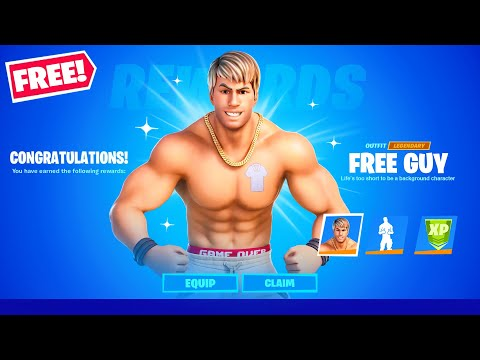 This is FREE for *EVERYONE*! (Fortnite Free Guy)