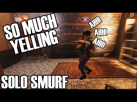 Solo Smurf: Ranked Is Toxic - Rainbow Six Siege
