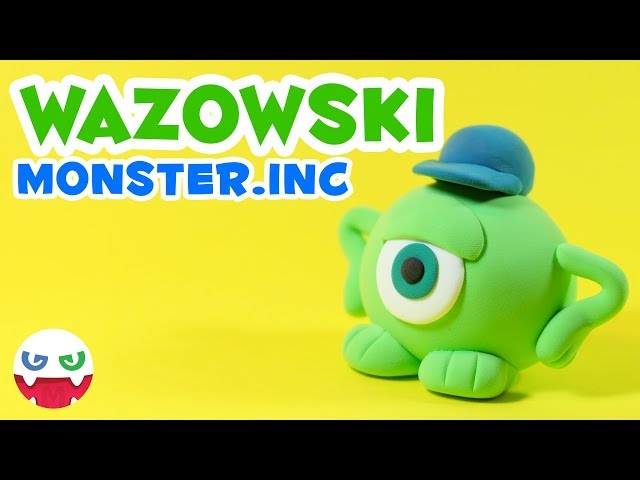 How to Make a Wazowski with Clay [Monster.inc]