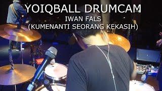 IWAN FALS - KUMENANTI SEORANG KEKASIH LIVE AT SEMARANG (YOIQBALL DRUMCAM)