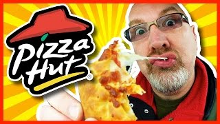 Pizza Hut - Canadian Pizza with Stuffed Crust Review | KBDProductionsTV
