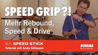 Speed Grip Tutorial - English Subtitles   Rohema 5A Speed Stick