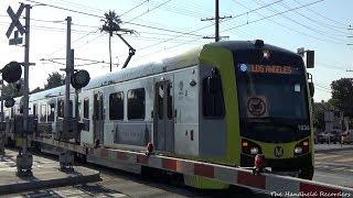 Expo Line Action In West Los Angeles, San Diego Trolley Bonus Scenes