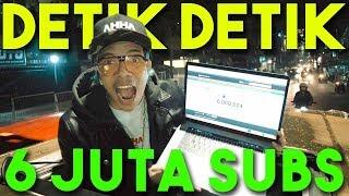 DETIK DETIK ATTA 6 JUTA SUBS 😭 HARUUU AIR MATA