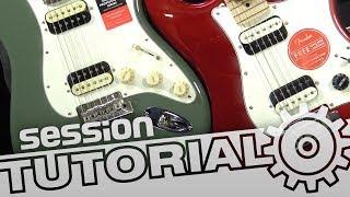 Squier vs. Fender – Was ist der Preis einer E-Gitarre? | session Tutorial