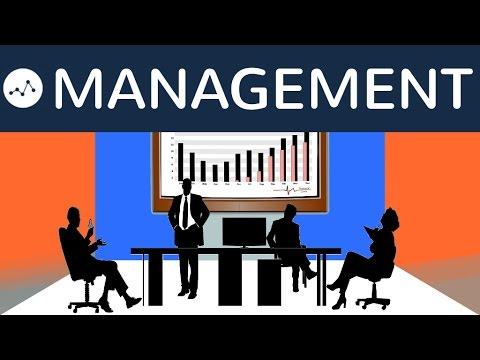 Was Ist Management? Unterscheidung: Organisation, Tätigkeiten, Methoden Und Führungsstile