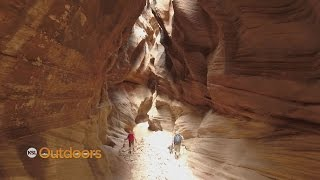 Backpacking Buckskin Gulch - Wire Pass to Whitehouse
