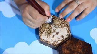 Woodburning Art - Pyrography 13/09/13