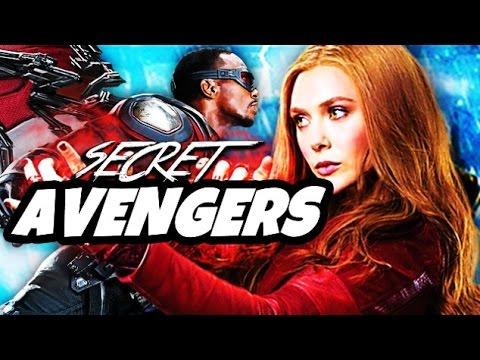 Captain America Civil War and Avengers Infinity War - Secret Avengers Explained