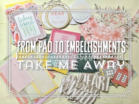 One PaperPad: Embellishments