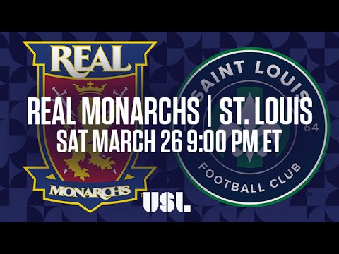 WATCH LIVE: Real Monarchs SLC vs Saint Louis FC 3-26-16