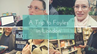 Struggling with Setting the Scene in a Novel + Book Shopping at Foyles in London   BTS Vlog #3