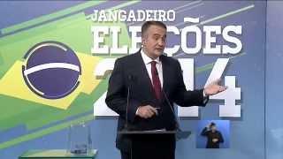 Último debate dos candidatos ao Governo do Ceará na TV Jangadeiro - 02/10/2014