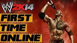 WWE 2K14 Online Match Expirience | FIRST TIME EVER!