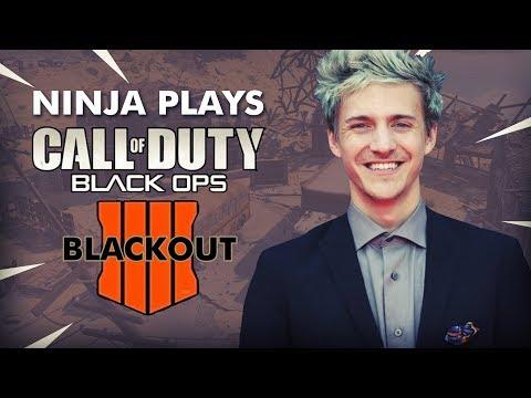Ninja Plays COD Black Ops 4 BLACKOUT