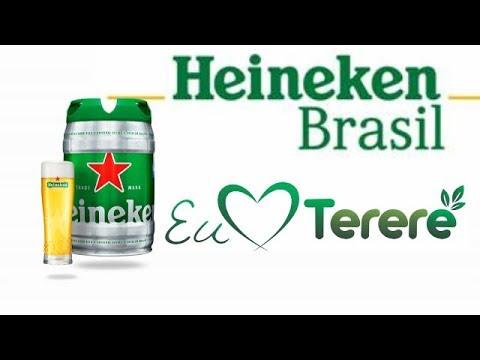 Garrafa de tereré com tampa com botija da Heineken faça você mesmo