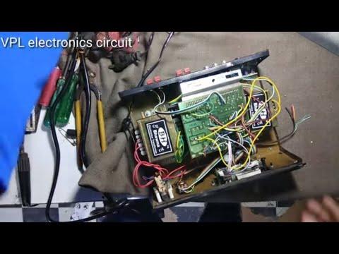 4.1 Home Theater Amplifier 4440IC × 4 + 3055tr×2 In Hindi 250 Watt Part 2