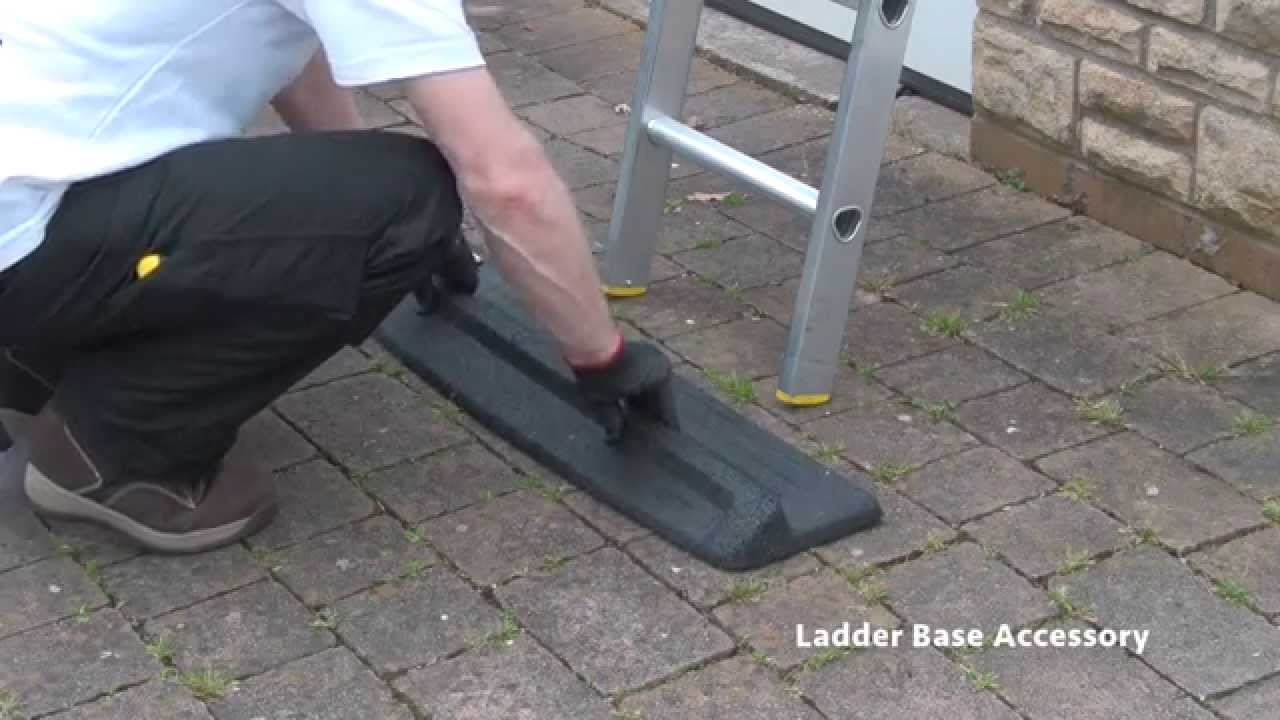 Tb Davies Ladder Base Safety Accessory Youtube