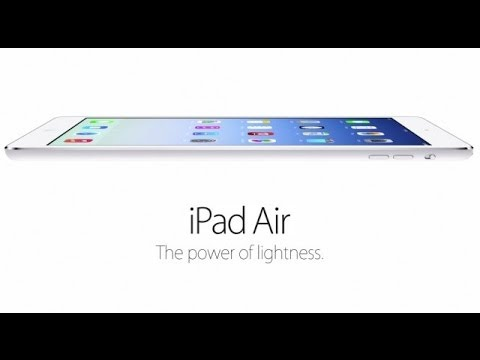 Walt Mossberg Reviews the New iPad Air