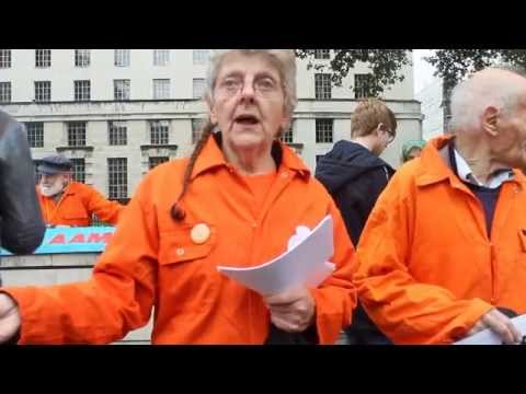 Interview with Georgie Stagg, protester