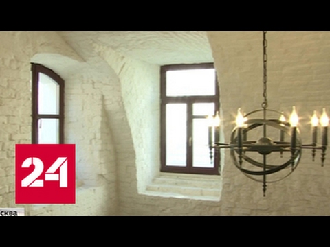 Старинный московский особняк подняли из руин